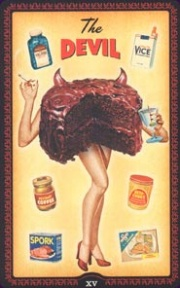 The Housewives tarot Devil card